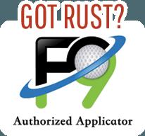 F9 Applicator Rust Removall